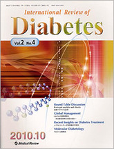 International Review of Diabetes2010年10月号(Vol.2 No.4)