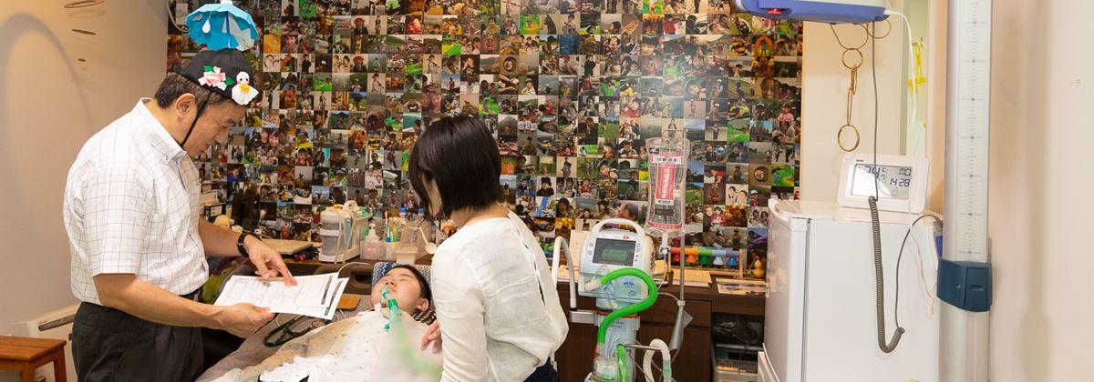 インタビュー 医療依存度の高い小児と家族を支える小児在宅医療 slide